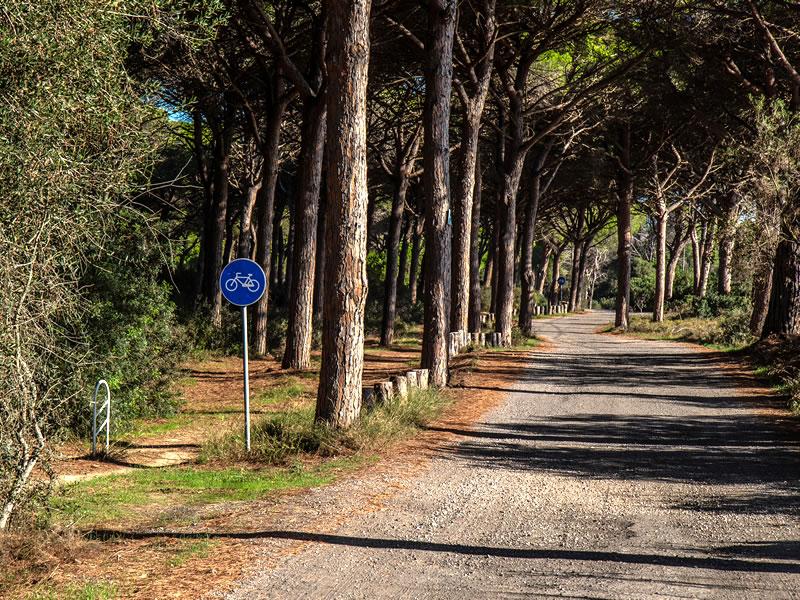 Radweg S'ena Arrubia Camping